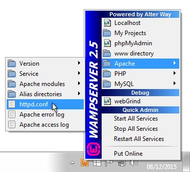 WAMP Apache http.conf