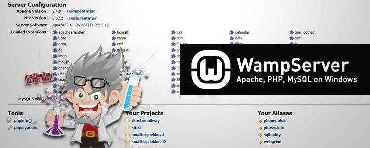 WAMP Server Stack