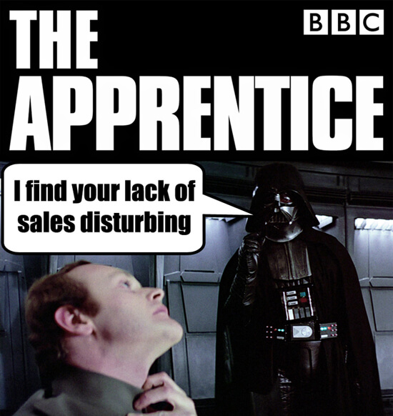 Darth Vader force grip