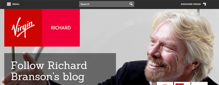Richard Branson's Blog