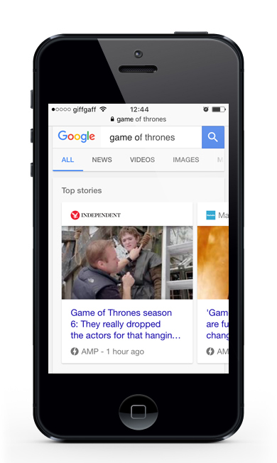 iphone-google-amp-mobile-serps