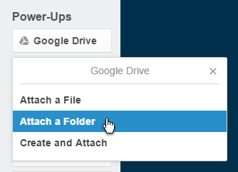 Trello Google Drive card Power Up