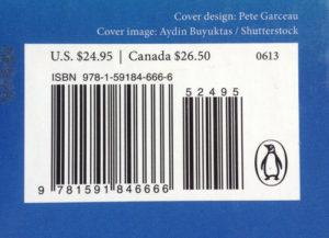 ISBN book barcode