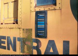 KarTrak barcode on rail car