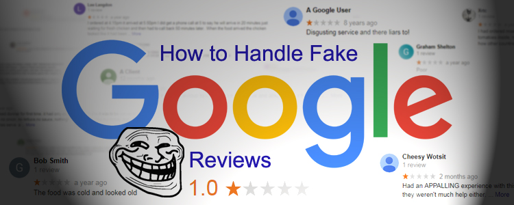 Fake Negative Google Reviews