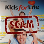 Kids for Life Bogus Charity Magazine Cover