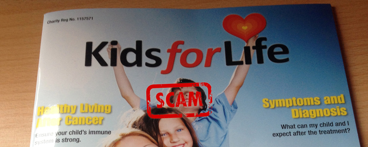 Magazine Advertising Scam: Bogus Children's Cancer Charity Misleading Small Businesses
