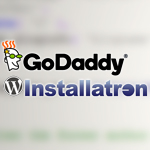 Remove GoDaddy footer links from WordPress websites