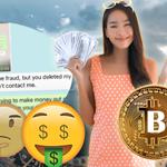 WhatsApp message investment scam